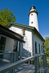Guest Entrance to the Pointe aux Barques Lighthouse