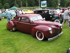 ford washington 1940 chopped custom coupe forty hoquiam channeled pushrods rodandcustommagazine