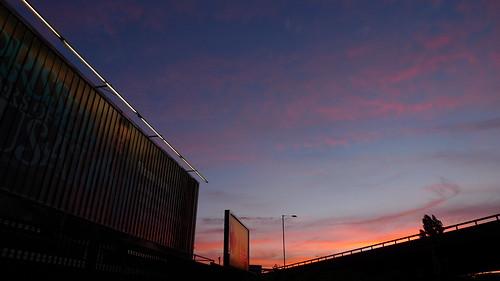 Westway sunset (2)
