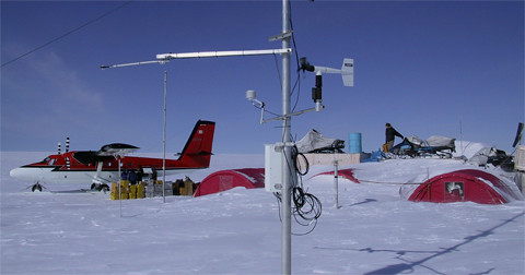 greenland research camp