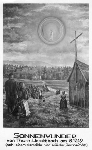 Das Sonnenwunder von Heroldsbach am 8.12.1949