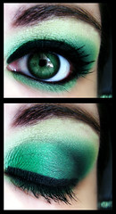 Week 6 of 52: Minty Fresh (Lady Pandacat) Tags: portrait black macro reflection green eye self diptych shiny colorful bright shimmery makeup vivid greeneyes mexican hispanic latina minty sparkly 2009 catchlight fantabulous catchycolorsgreen pandacat canong9 pandacatbaby tinaangel wwwcoastalscentscom yeahiknowimpale mrmoogs52weeksemporium makeupmacro ireallyneedtowatchsomeeddieizzardthisweekoohorsomeblackbooks iwouldhavedylanmoransbabiesreally ladypandacatvonnopants
