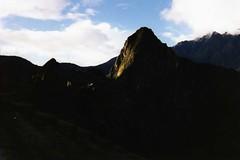 Evening sun at Machu Picchu