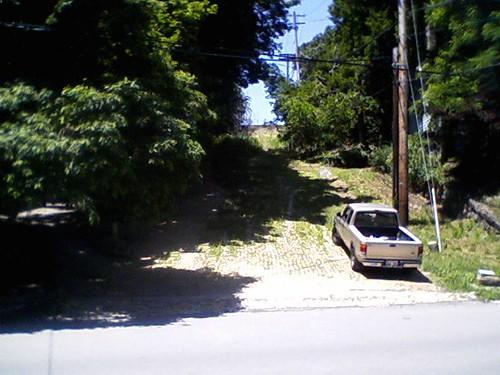 Maryland St, Bellevue, seen from Balph