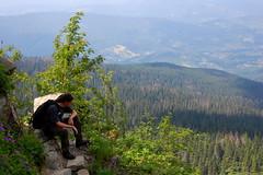 Vastness (Piotr Zauski) Tags: trip summer mountain nikon holidays rocks poland polska peak trail kit mm 1855 2009 slope gora babia gra d40