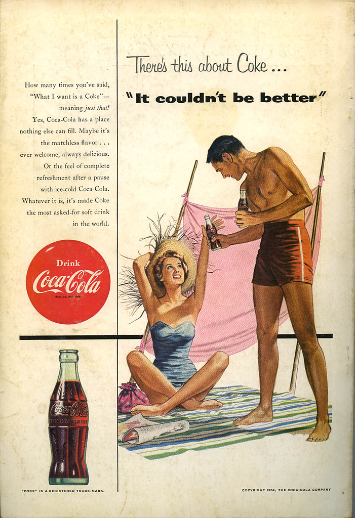 Coca Cola ad_July 1954_tatteredandlost