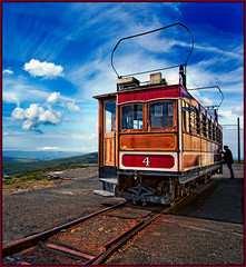 1895 Snaefell mountain railway (Photography by Sue) Tags: mountain railway cloudscapes 1895 snaefell snaefellmountainrailway platinumheartaward