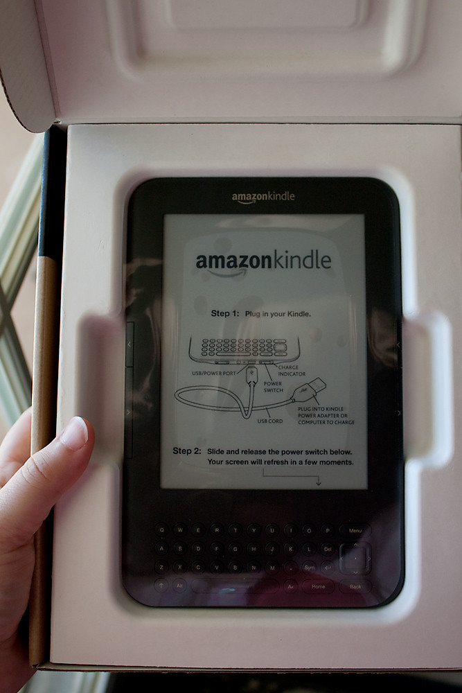 My Day 6/31:  Kindle!