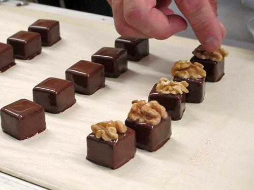 chocolate at blondel