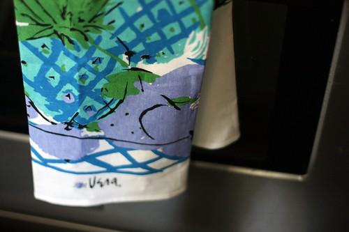 vera tea towel