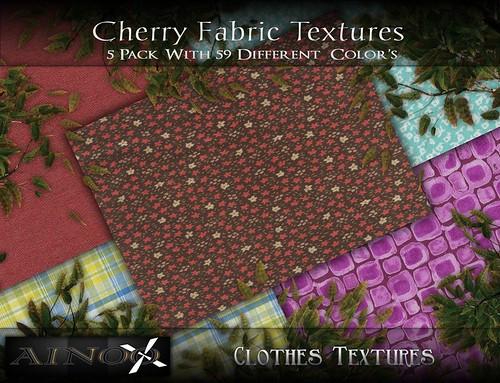 Cherry Fabric Fat Pack by Ainoo By Alexx Pelia