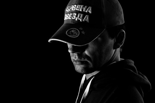 Baseball cap self portrait by sidjej