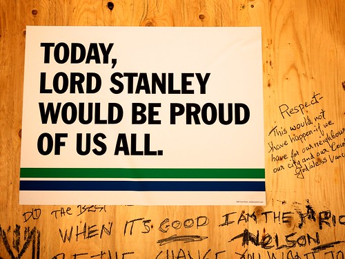 Lord Stanley would be proud of us all