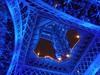 Damn I wish I'd taken this! - Explore 2/16/09  #432 (dart5150) Tags: blue france eiffeltower unusualviewsperspectives