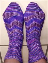 Jaywalker socks, take 2