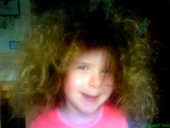 bad hair day (leica701) Tags: cute childhood maria daughter curly sss tochter kindheit scrubby putzig locken strubbelig vaterfreuden