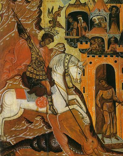016- San Jorge y el dragon siglo XVIII