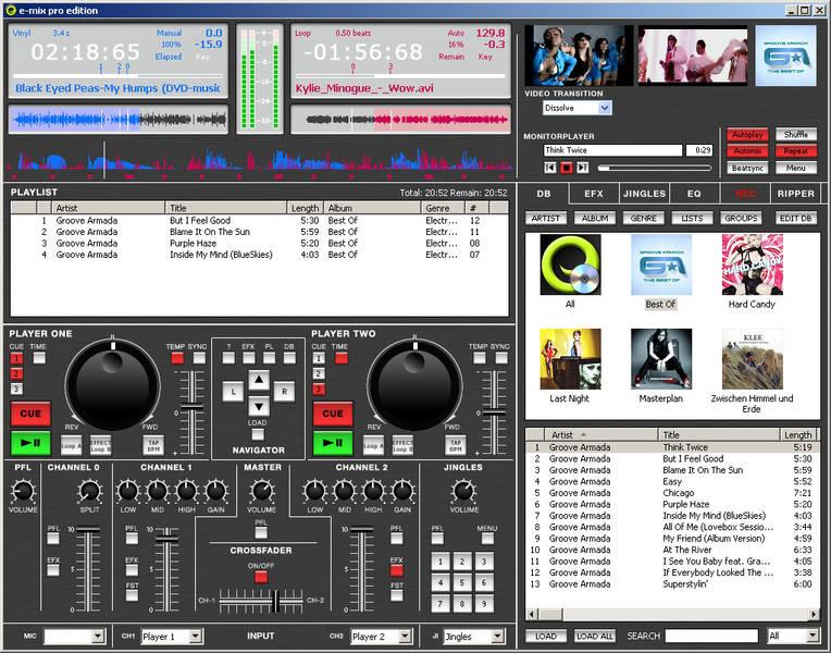 E Mix Pro Edition v5 4 0 299 NoPE [Pro DJ software] [101] preview 0