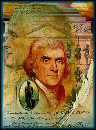 Thomas Jefferson,George Washington,proclamation,etats unis,cherokee