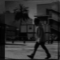 Hurry Up (EudaldCJ) Tags: barcelona bw album explore textures squareformat urbana catalunya dreamcatcher 2bdasest hourofthesoul