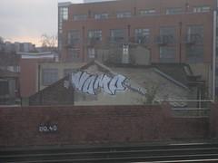 Vamp FDC (Tatty Seaside Town) Tags: london rooftop graffiti graf ps vamp trackside fdc kto tattyseasidetown