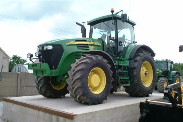 john deere ciągniki rolnicze używane traktory ogłoszenia