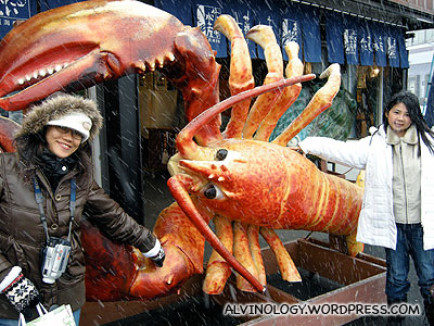 Giant lobster
