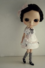 Manna Energy dress 1. (Babet.) Tags: charity doll handmade sewing blythe spleen tib ebl lovemission 652 mannaenergydressdrive