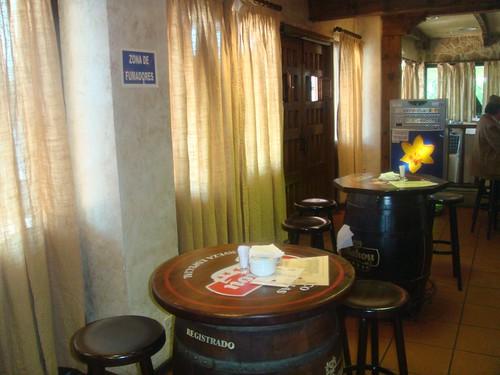 Bar-Cafetería de la entrada