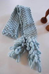 Peony scarf (uppitygirl) Tags: scarf knitting twinkle yarn