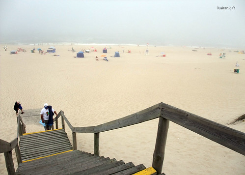 A praia é muito limpa