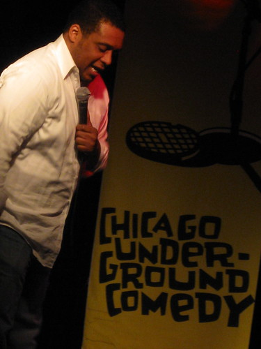 Aaron Foster  @ Chicago Underground Comedy March 24, 2009