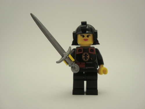 Mulan custom minifig
