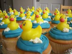 Ducky Cupcakes!