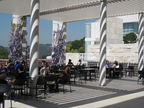 Getty Museum-outside bistro-los angele-steve barrymore