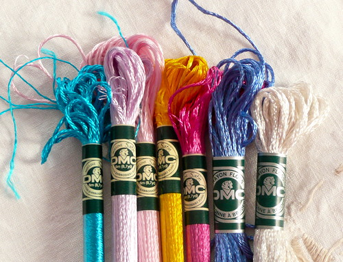 Satin Embroidery Floss