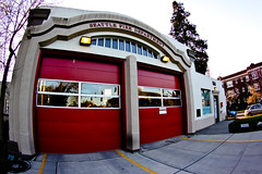 Fire Station #13 fisheye view