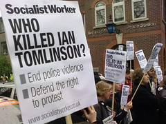 Who killed Ian Tomlinson?