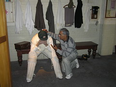 Have a heart Sir Bradman. Little Master Sachin has found a place in Madame Tussauds Museum because of Greats like you.