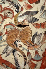Egyptian cat hunting in the marshes ( Libyan Soup) Tags: birds cat painting chat hunting egypt egyptian egipto britishmuseum fresco gypten egitto egypte egypten ancientegypt wallpaintings egiptus egipt egyptianart gypte nebamun egypti  egyptiancat tombart tombpainting egyptianpainting egiptio egiptujo michaelcohengallery nebamunwallpaintings tombchapel tombchapelofnebamun