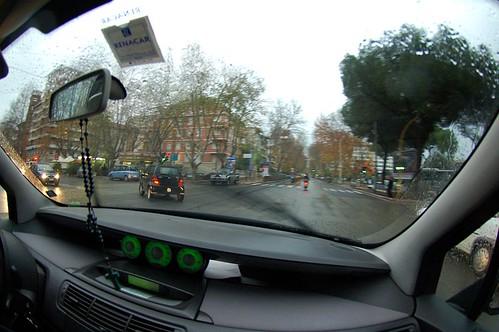 Rome, voiture, auto, DSC_1135. Rome, dans ma voiture, via Flaminia