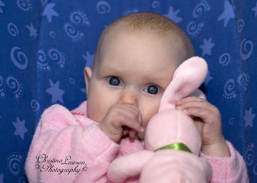 Maddie on Easter