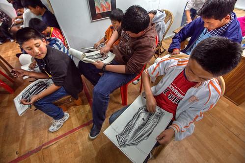 Tonal Drawing Class in VAST
