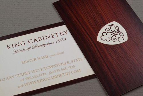Elegant Cabinetry Business Card