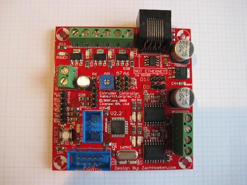 Extruder Controller v2.2
