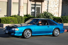 1993 FORD MUSTANG SVT COBRA (Navymailman) Tags: show california park ford car berry body farm fox forever mustang fabulous 2009 fords knotts fff buena stang fabulousfordsforever foxbody foxbodymustang