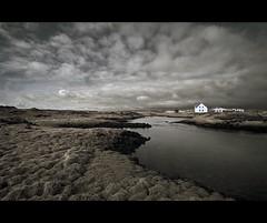 Straumsvík- Iceland (Nöé) Tags: lake clouds dark lago iceland islandia farm nubes granja oscuro naturesfinest the4elements nöé noevlad noeliamagnusson wwwnoeliamagnussoncomnöénoemagnusson nöémagnusson