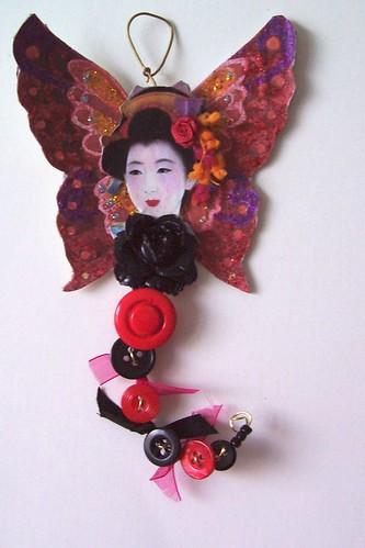 madame butterfly  button fairy- MAD MAMMA SWAP