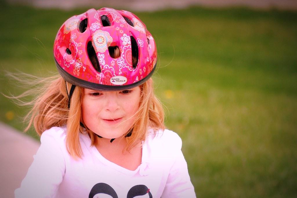 "Emma ""Look Dad no training wheels"""