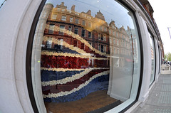 London Reflections (ashleybest) Tags: london jack union fisheye marc jacobs mayfair refelection